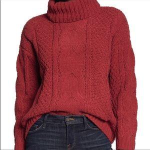 Just Madison knitted sweater medium NWT